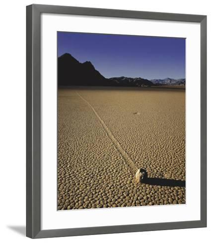 Moving Rock-Will Connor-Framed Art Print