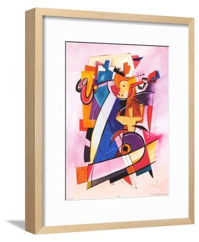 Pick up the Beat-Alfred Gockel-Framed Art Print