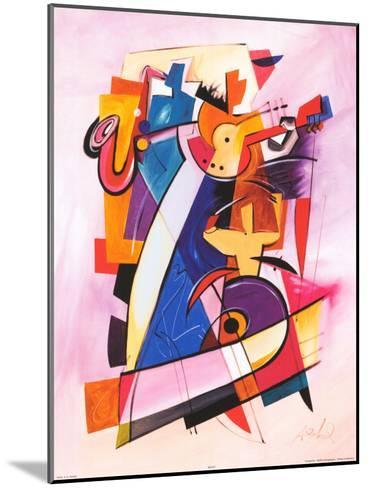 Pick up the Beat-Alfred Gockel-Mounted Art Print