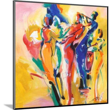 Jazz Explosion I-Alfred Gockel-Mounted Art Print