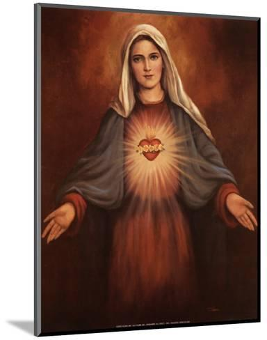 Mary's Immaculate Heart-T^ C^ Chiu-Mounted Art Print