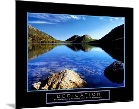 Dedication: Jordan Pond-Dermot Conlan-Mounted Art Print
