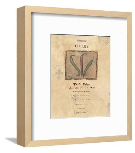 Chili Salsa--Framed Art Print