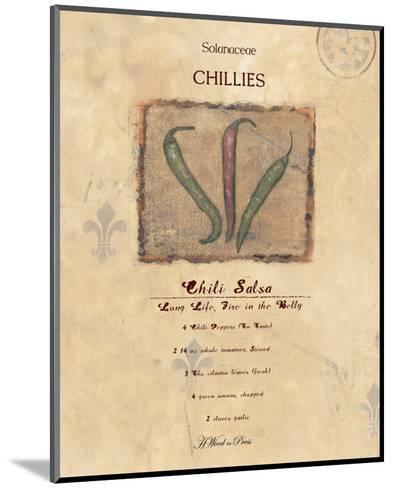 Chili Salsa--Mounted Art Print