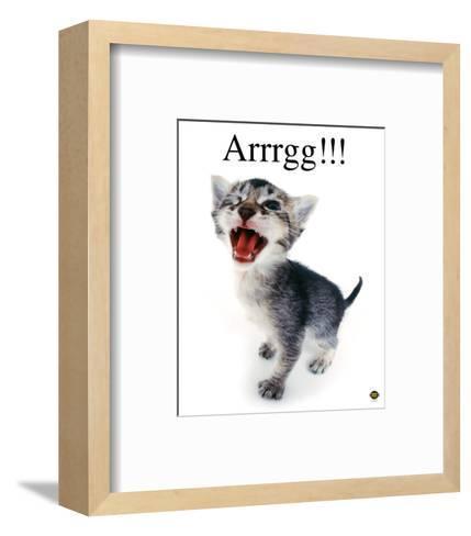 Arrrgg!-Yoneo Morita-Framed Art Print