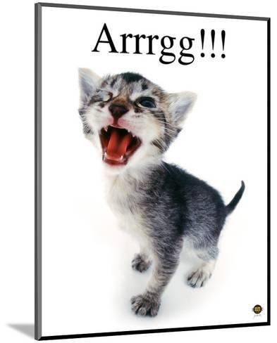 Arrrgg!-Yoneo Morita-Mounted Art Print