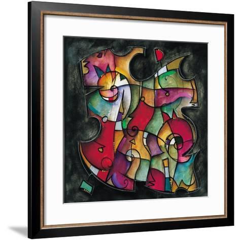 Noir Duet I-Eric Waugh-Framed Art Print