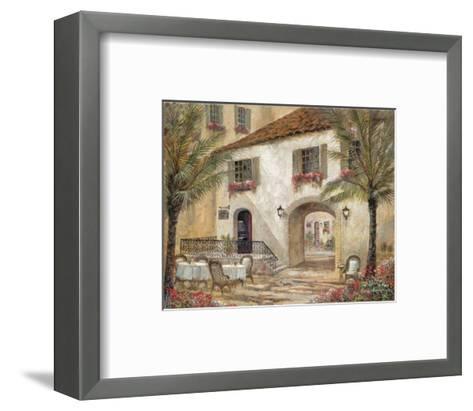 Gentle Palms and Wine-Ruane Manning-Framed Art Print