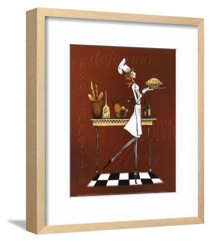 Sassy Chef I-Mara Kinsley-Framed Art Print