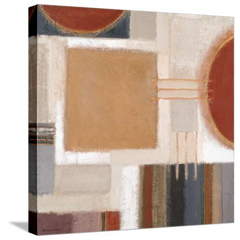 Ochre Block-Rosemary Abrahams-Stretched Canvas Print