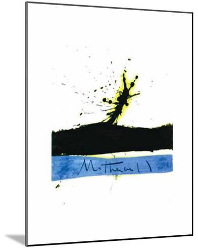Beside the Sea No. 1, c.1962-Robert Motherwell-Mounted Art Print