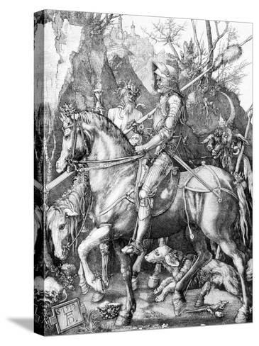 The Knight, Death and The Devil , c.1514-Albrecht D?rer-Stretched Canvas Print
