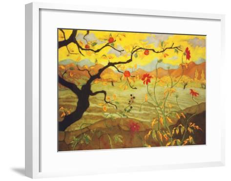 Apple Tree with Red Fruit, c.1902-Paul Ranson-Framed Art Print