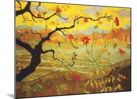 Apple Tree with Red Fruit, c.1902-Paul Ranson-Mounted Art Print