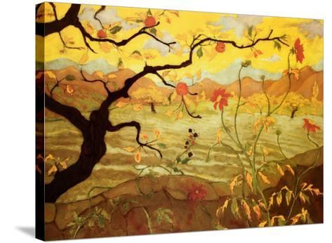 Apple Tree with Red Fruit, c.1902-Paul Ranson-Stretched Canvas Print