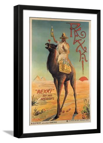 Rexki-R^ Vittelle-Framed Art Print