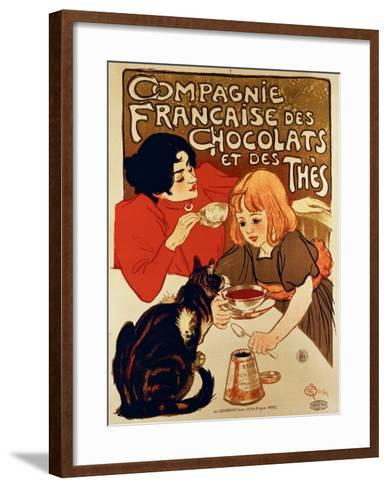 Compagnie Francaise-Th?ophile Alexandre Steinlen-Framed Art Print