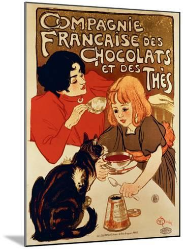 Compagnie Francaise-Th?ophile Alexandre Steinlen-Mounted Giclee Print