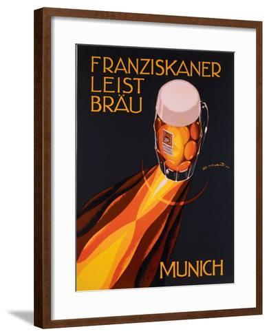 Bierre Munich-Edmond Maurus-Framed Art Print