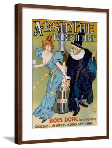 Absinthe Parisienne- Gelis-Didot & Maltese-Framed Art Print