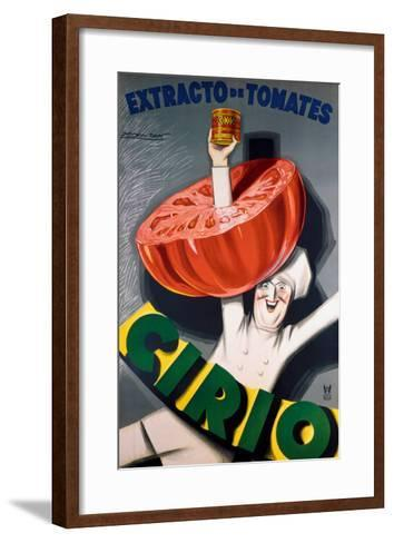 Extracto de Tomates-Achille Luciano Mauzan-Framed Art Print