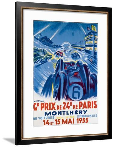 Grand Prix de Montlhery-Geo Ham-Framed Art Print