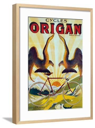 Cycles Origan-Raoul Vion-Framed Art Print