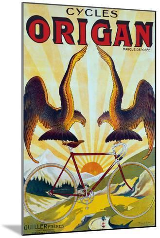 Cycles Origan-Raoul Vion-Mounted Giclee Print