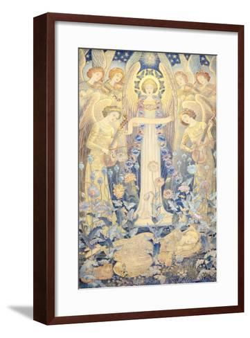 Angel Sleeping Beauty Princess--Framed Art Print
