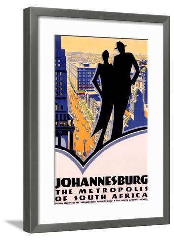 Johannesburg, South Africa--Framed Art Print