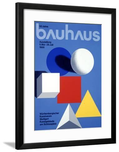 Bauhaus Ausstellung, 50 Jahre--Framed Art Print