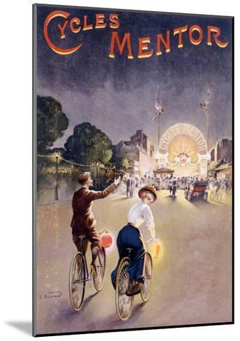 Bicycles Mentor Carnival Circus--Mounted Giclee Print