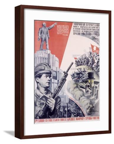 Leninist Communist Party--Framed Art Print