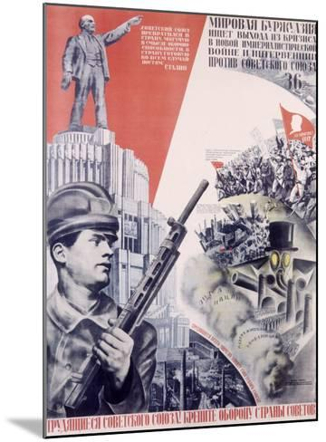 Leninist Communist Party--Mounted Giclee Print