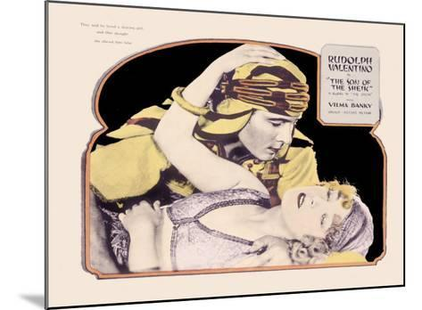Rudolph Valentino, Son of the Sheik--Mounted Giclee Print
