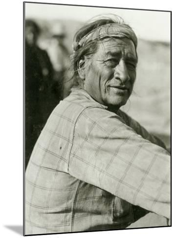 Union Pacific, Navajo Indian--Mounted Giclee Print