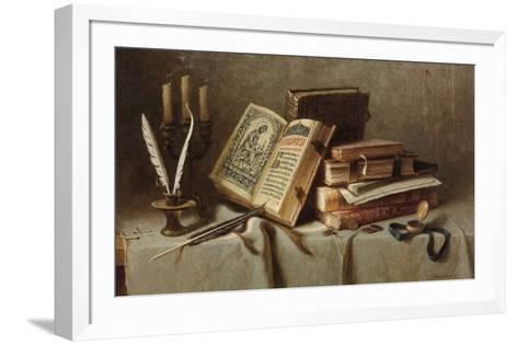 Old Books II-Igor Belkovskij-Framed Art Print