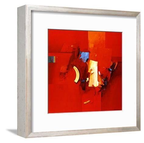 Fighting Blue-Theo Den Boon-Framed Art Print