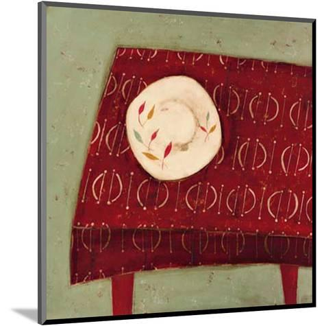 Red Table-Oakley-Mounted Art Print