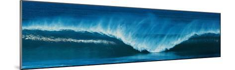 Rolling Surf--Mounted Art Print