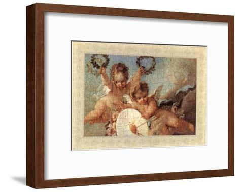 Cherubs, Cupids and Love III--Framed Art Print