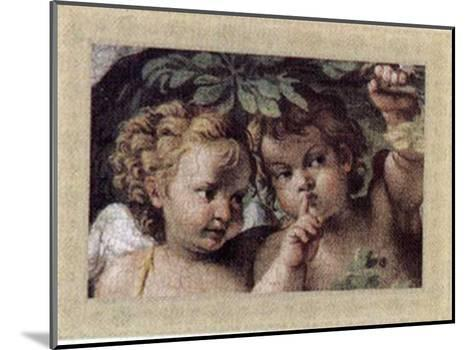 Cherubs, Cupids and Love IV--Mounted Art Print