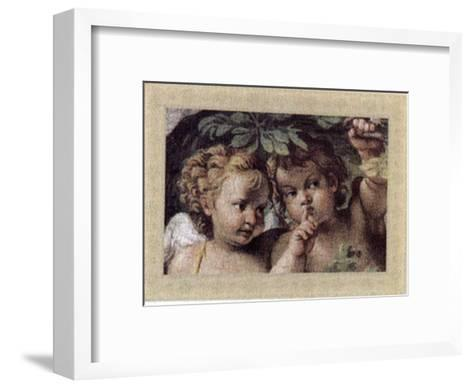 Cherubs, Cupids and Love IV--Framed Art Print