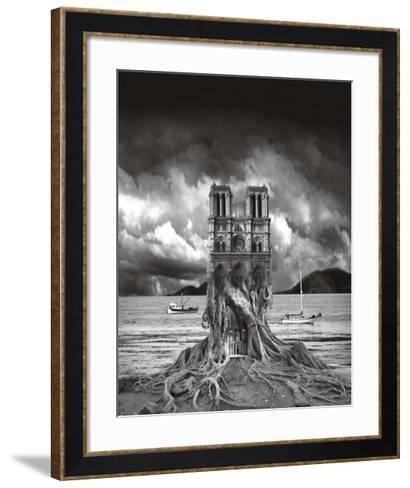 Stumped-Thomas Barbey-Framed Art Print