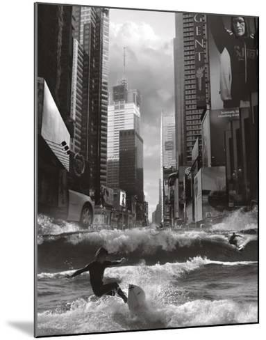 Swell Time in Town-Thomas Barbey-Mounted Art Print