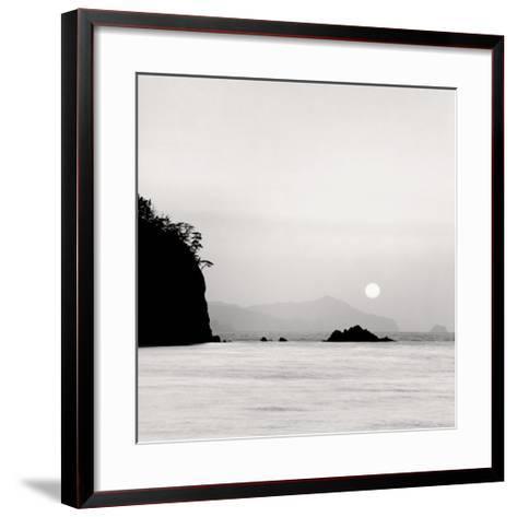 Sunset, Oki Island, Japan-Rolfe Horn-Framed Art Print