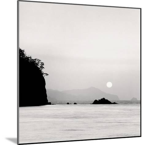 Sunset, Oki Island, Japan-Rolfe Horn-Mounted Art Print