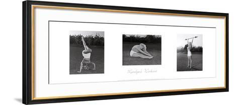 Marilyn's Workout--Framed Art Print