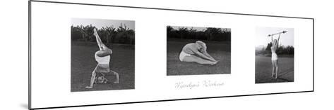 Marilyn's Workout--Mounted Art Print