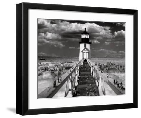 The Road to Enlightenment-Thomas Barbey-Framed Art Print
